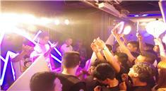 安徽派对DJ打碟现场舞蹈表演视频