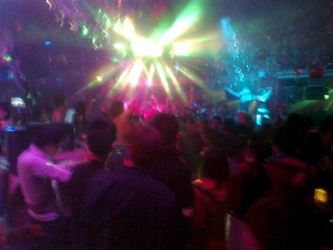 DJ学员王峰酒吧DJ打碟视频