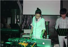 DJ阿哲酒吧打碟考核现场照片