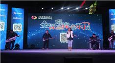 DJ打碟现场实力女歌献唱视频