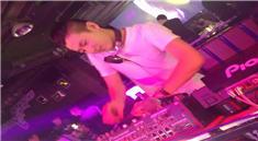 DJ张生江苏常州市菲比连锁酒吧打碟视频