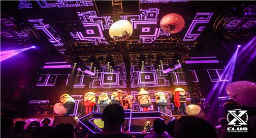 皇族DJ导师Justin上海X Club喊麦现场视频