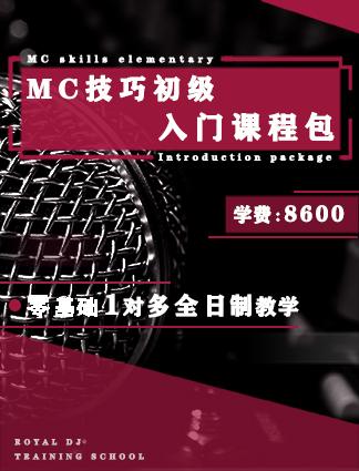 MC技巧初级入门课程包