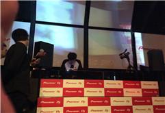 DJ学员王锋2013年广州DJ比赛打碟照片