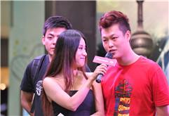 DJ学员吴静2011年先锋DJ大赛全国总决赛现场图集