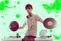 皇族DJ学院导师羽泽个性写真图册