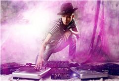 DJ导师曹旭DJ打碟艺术照