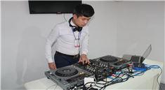 DJ学员贾宇打碟混音考核现场视频