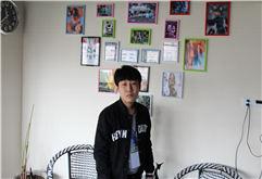 佳木斯DJ学员小龙打碟练习照片