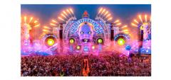 阿尔法大型电子DJ音乐节现场,给你无尽的震撼!