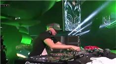 超嗨的大型打碟DJ派对万人现场视频