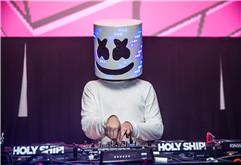 2018迈阿密电音节Marshmello现场