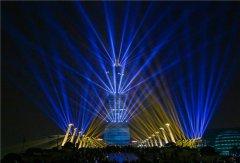 这场舞台灯光秀你给多少分?