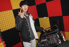 皇族安徽DJ学员刘杰打碟练习照片