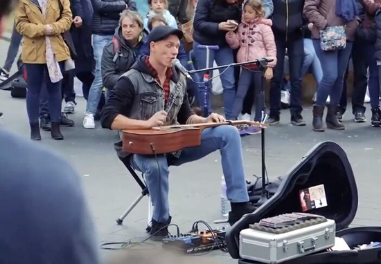 Youtube最热门的一位街头艺人!