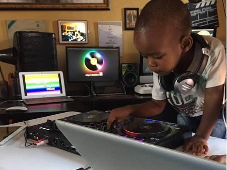 这儿童DJ都开万人派对现场了!