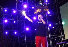 学员DJ钟生恒大国际电音节照片
