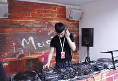 湖南DJ学员武俊练习照片