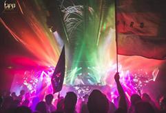 国外室外大型百大DJ打碟电音节视频