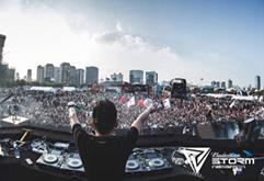 世界百大电音节现场DJ打碟视频