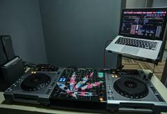 皇族DJ培训学校B区学员练习室
