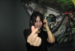 青岛美女DJ学员付博练习照片
