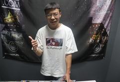 山西DJ学员申帅打碟练习照片
