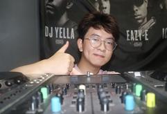 安徽合肥DJ学员范小龙打碟练习照片
