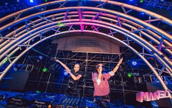 皇族DJ学院MANGO音乐节联合演出DJ照