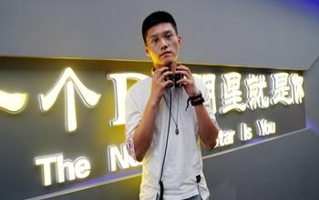 河北唐山DJ学员马越打碟练习照