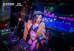 夜店职业DJ现场狂欢视频