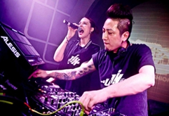 国内派对空间实力DJ现场打碟视频