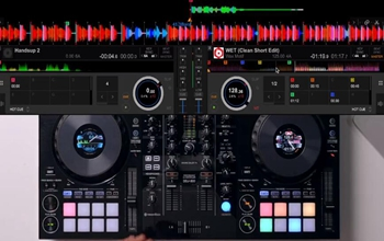 用手机链接DJ控制器