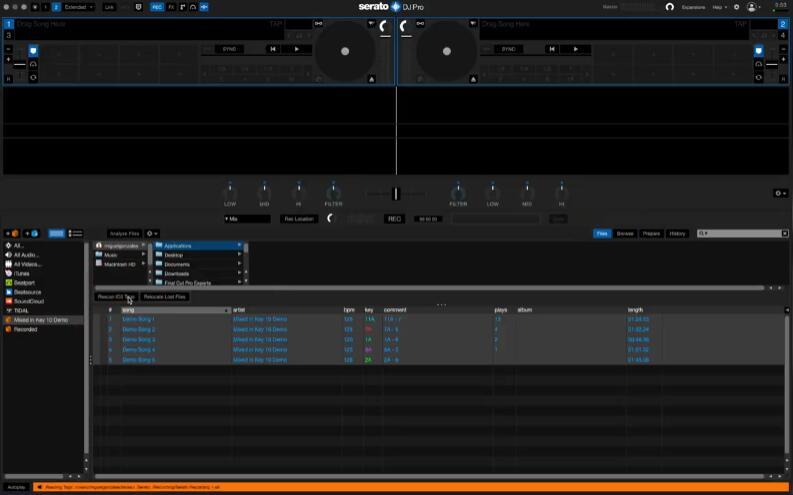 Rekordbox&Serato VS Mixed in Key 10
